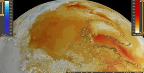 NASA-28yrs-Arctic-Warming