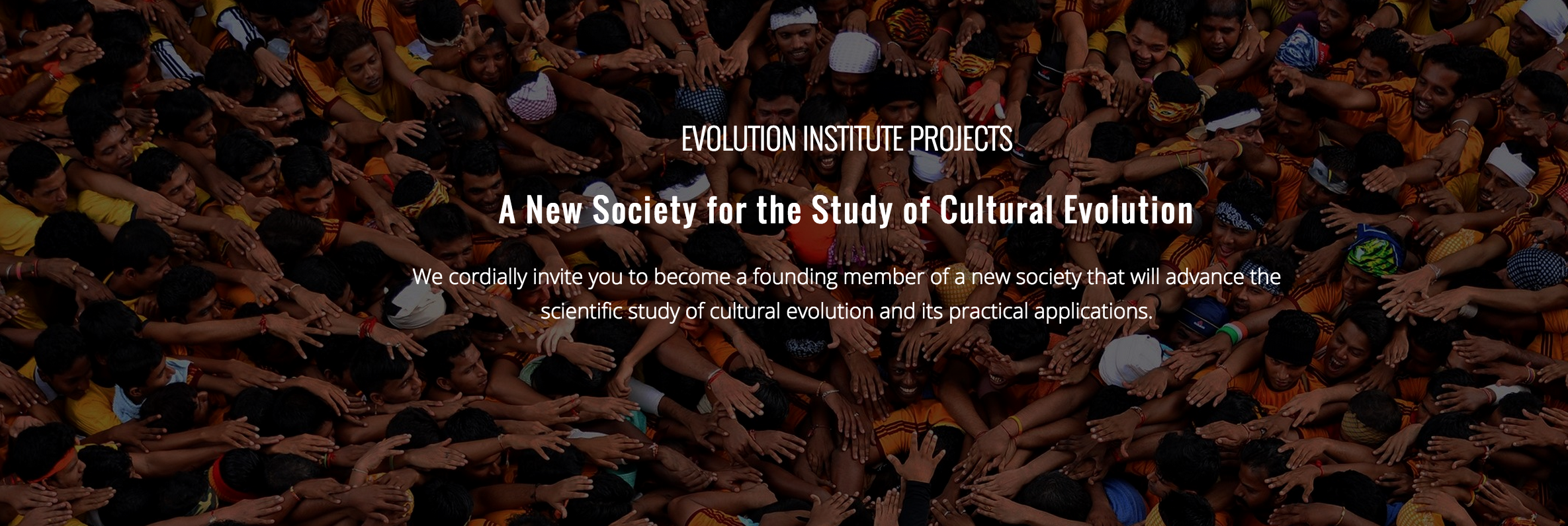 What Are The Grand Challenges For Cultural Evolution?