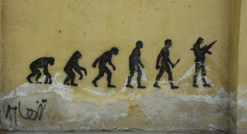 Evolution_on_a_wall
