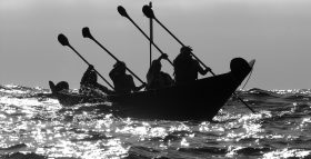 people-rowing-a-canoe-in-channel-islands-national-park-california